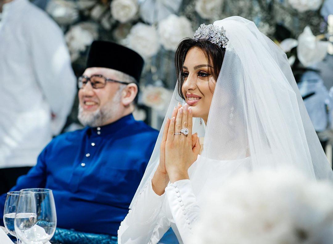 rihana petra wedding day with husband