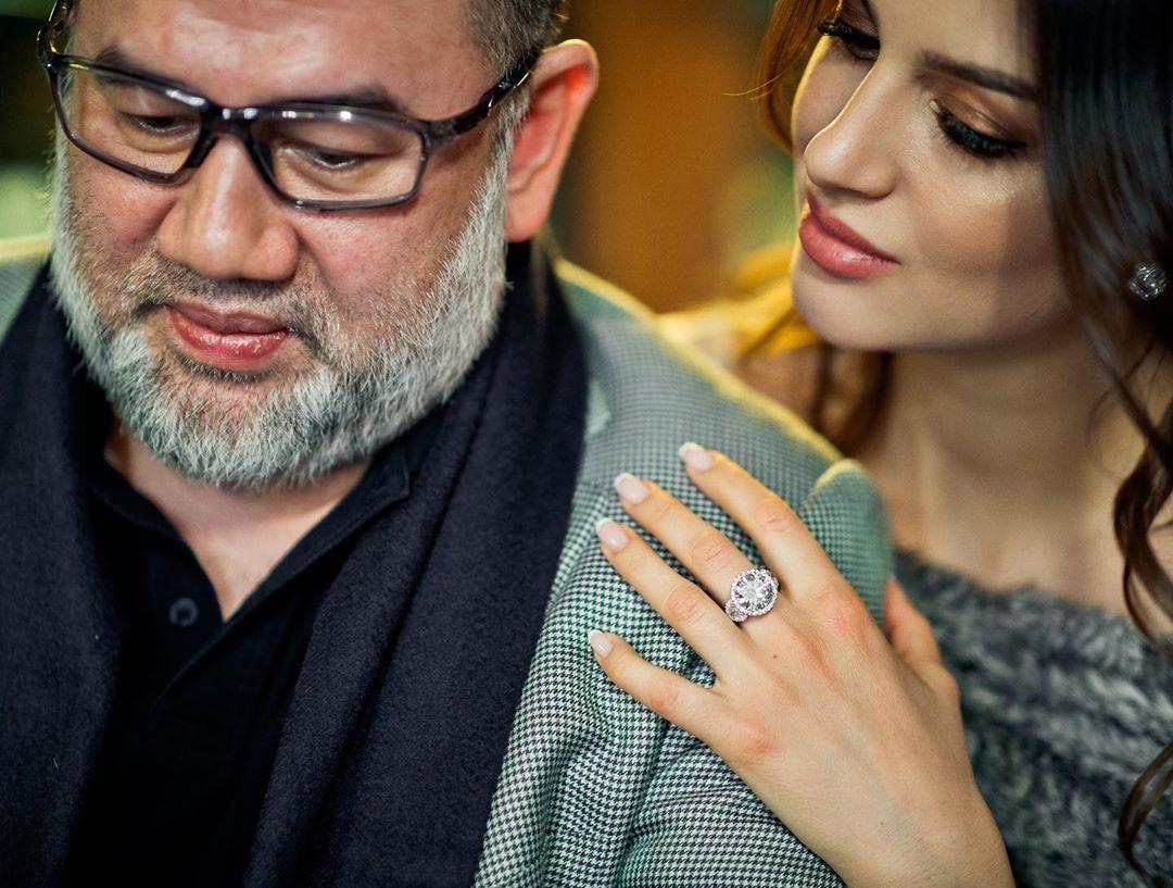 rhiana petra and husband close up