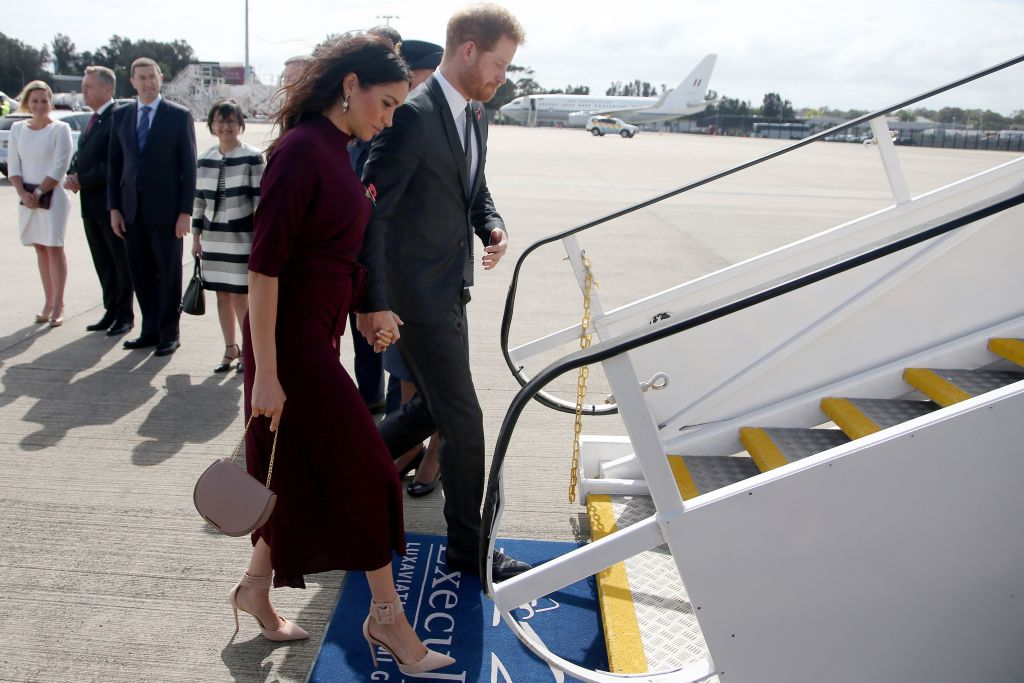 Royal family traveling