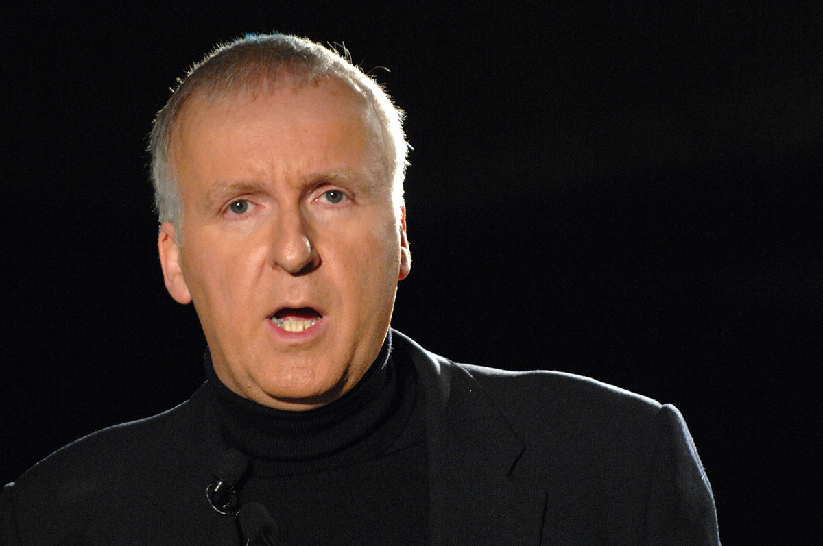 James Cameron during Discovery Channels