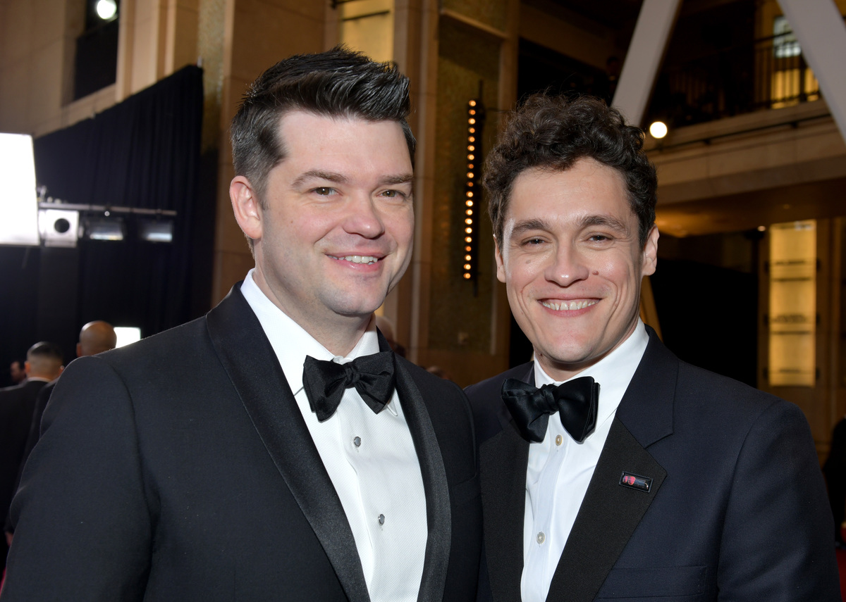 Filmmakers Christopher Miller and Phil Lord attend the 91st Annual Academy Awards at Hollywood and Highland on February 24, 2019 in Hollywood, California.