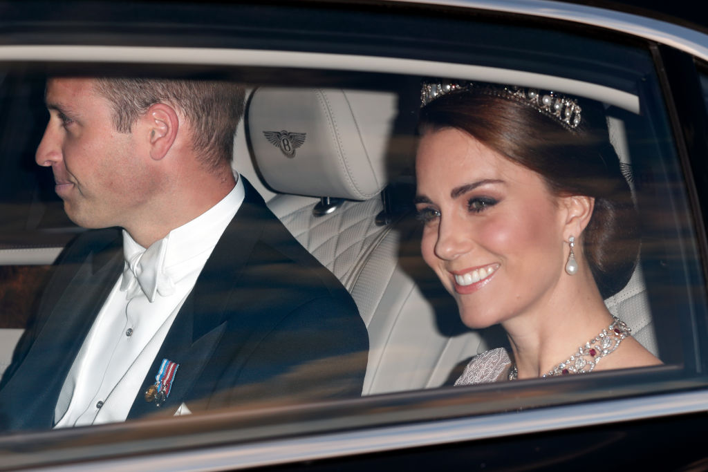Kate Middleton in a tiara