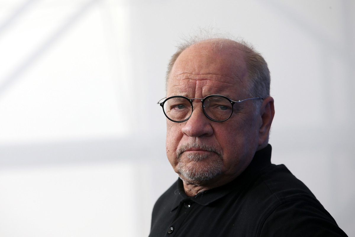 Paul Schrader attends the 'First Reformed' photocall during the 74th Venice Film Festival at Sala Casino on August 31, 2017 in Venice, Italy.