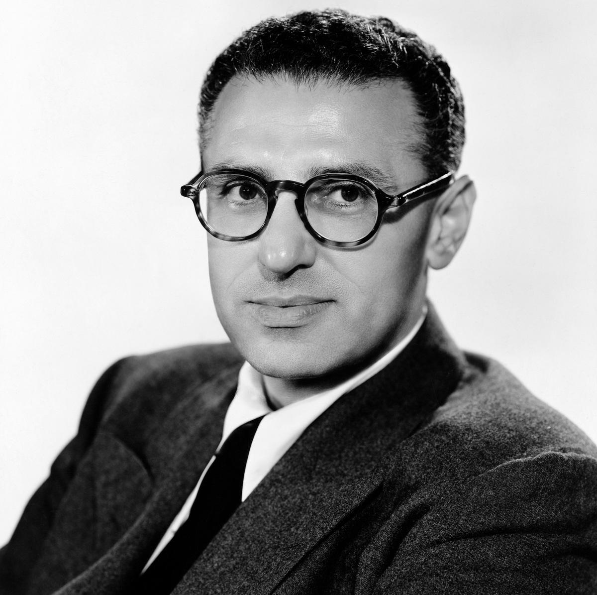 Portrait of George Cukor.