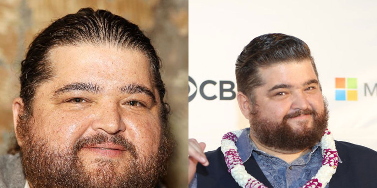 Jorge Garcia before and after