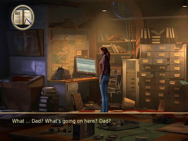 beginning gameplay of Secret Files: Tunguska played on the Wii