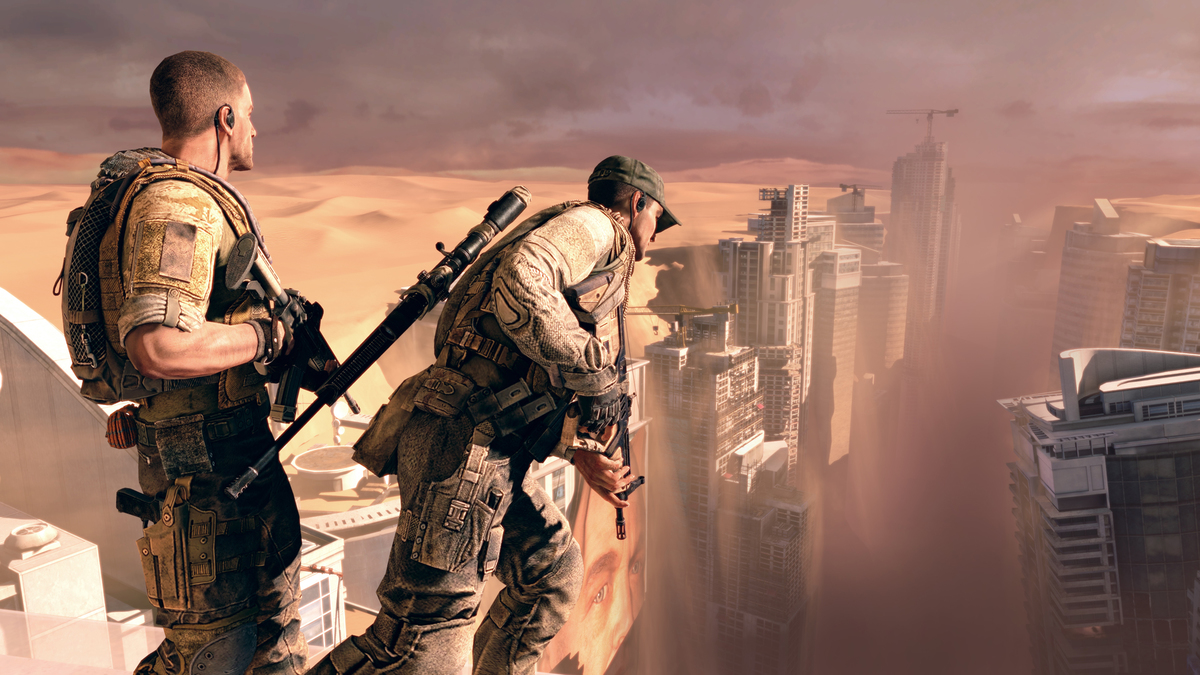 game play of the 2012 game Spec Ops: The Line