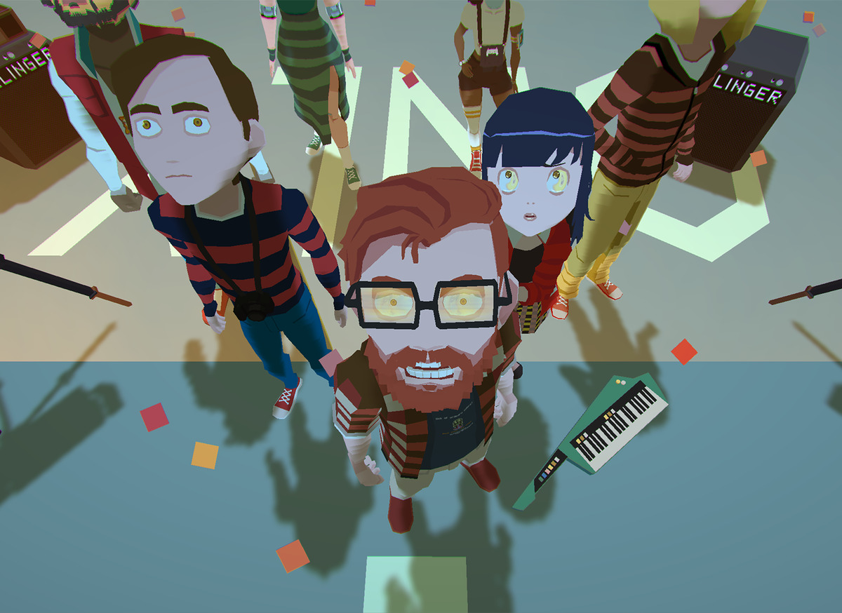 YIIK - A Postmodern RPG gameplay main characters