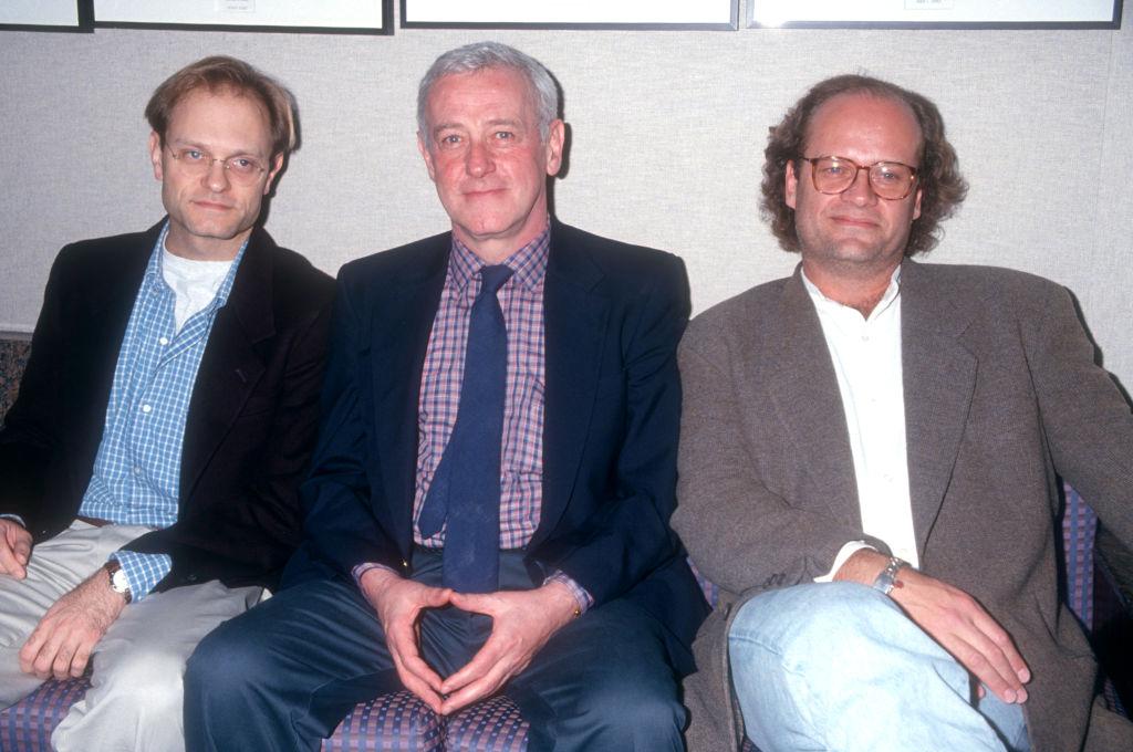 Actors David Hyde Pierce, John Mahoney and Kelsey Grammer