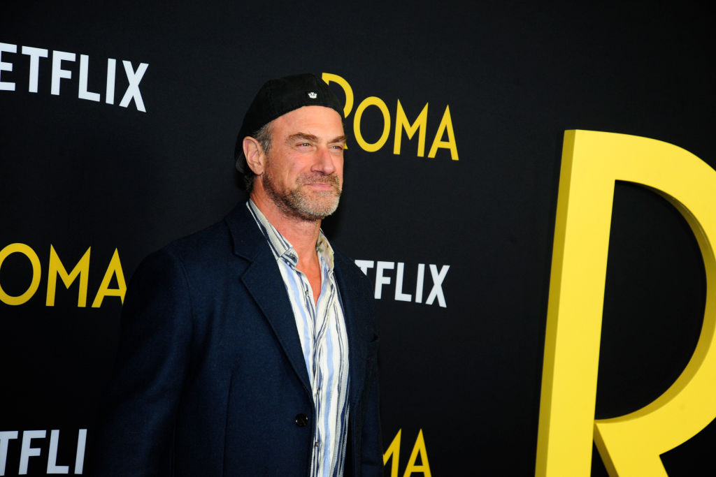 Christopher Meloni at premiere
