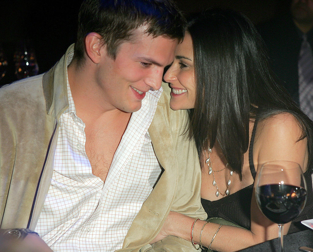 demi moore with then-husband