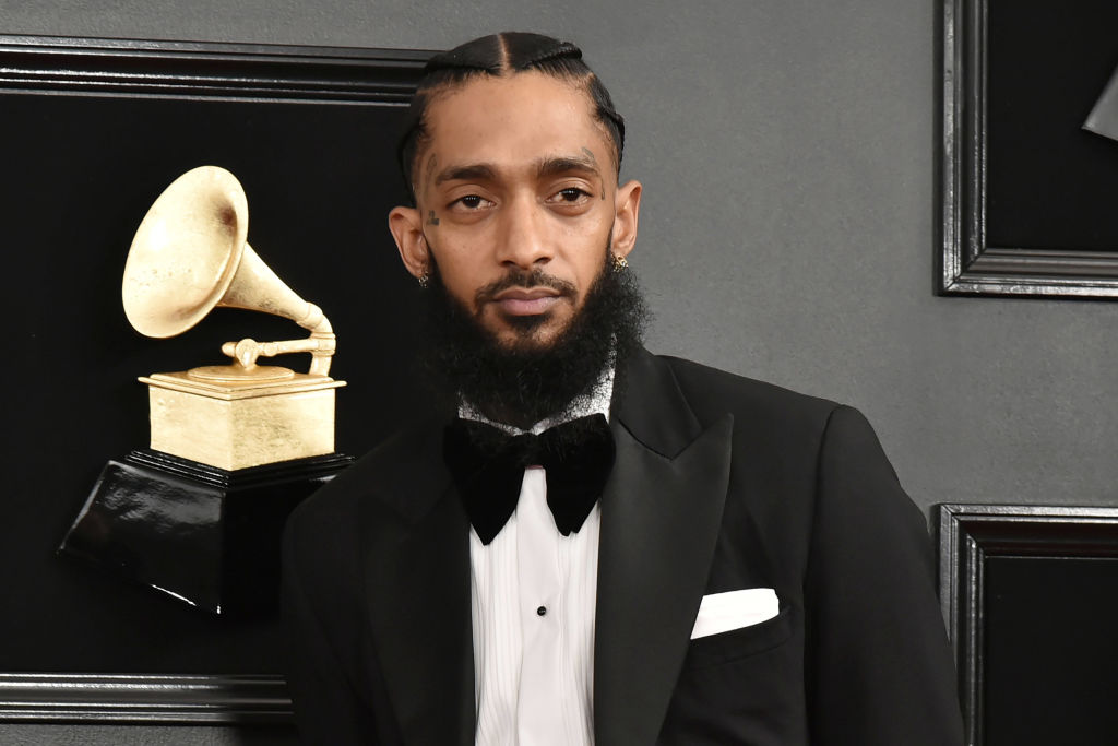 Nipsey at the Grammys