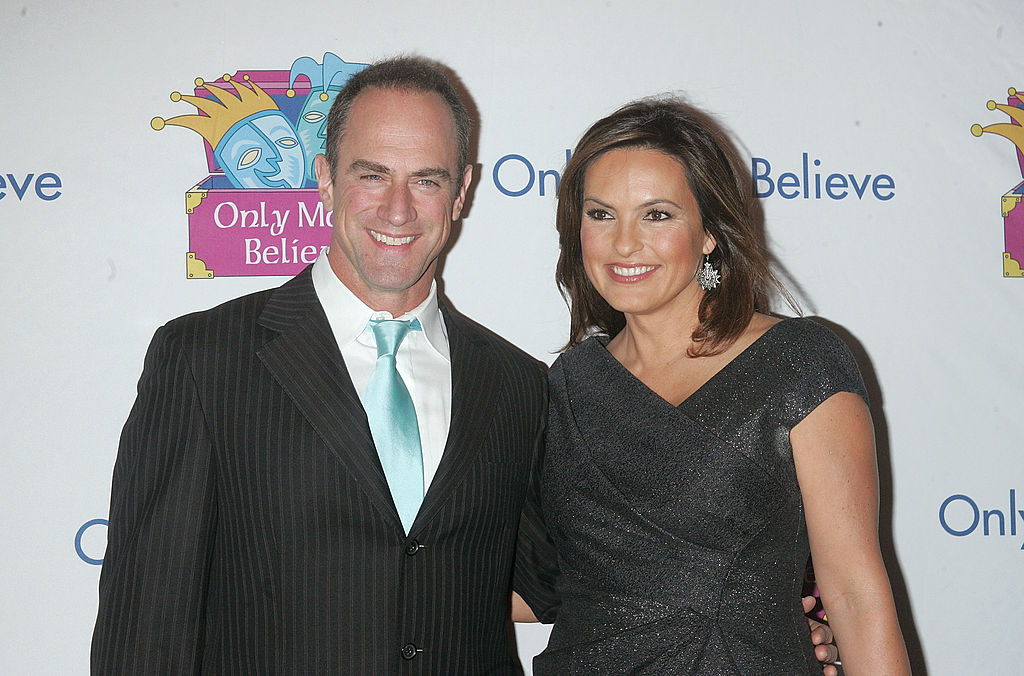 Hargitay And Meloni at gala