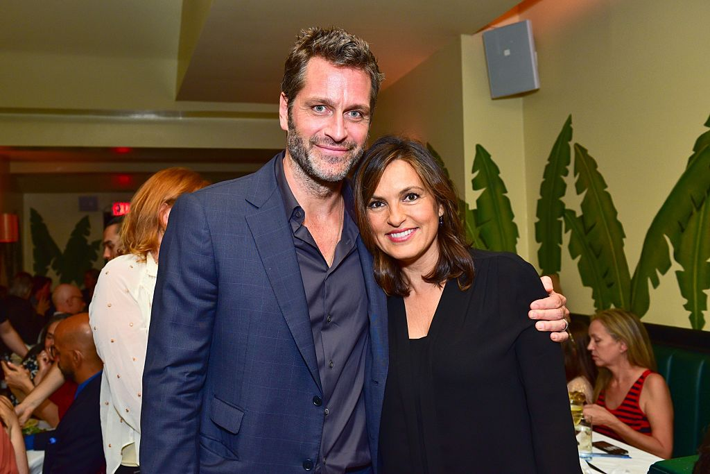 Peter Hermann and Mariska Hargitay