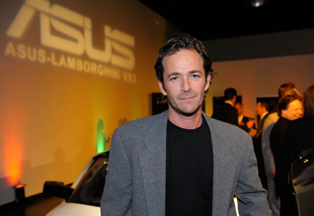 Luke Perry in Orange County