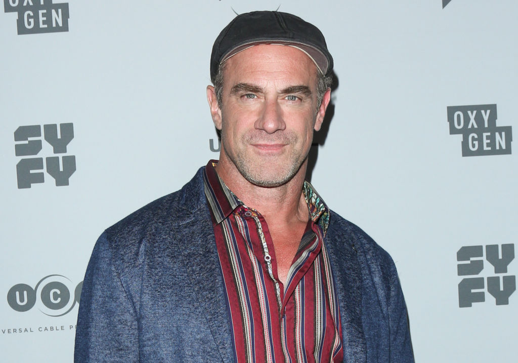 Chris meloni at press junket