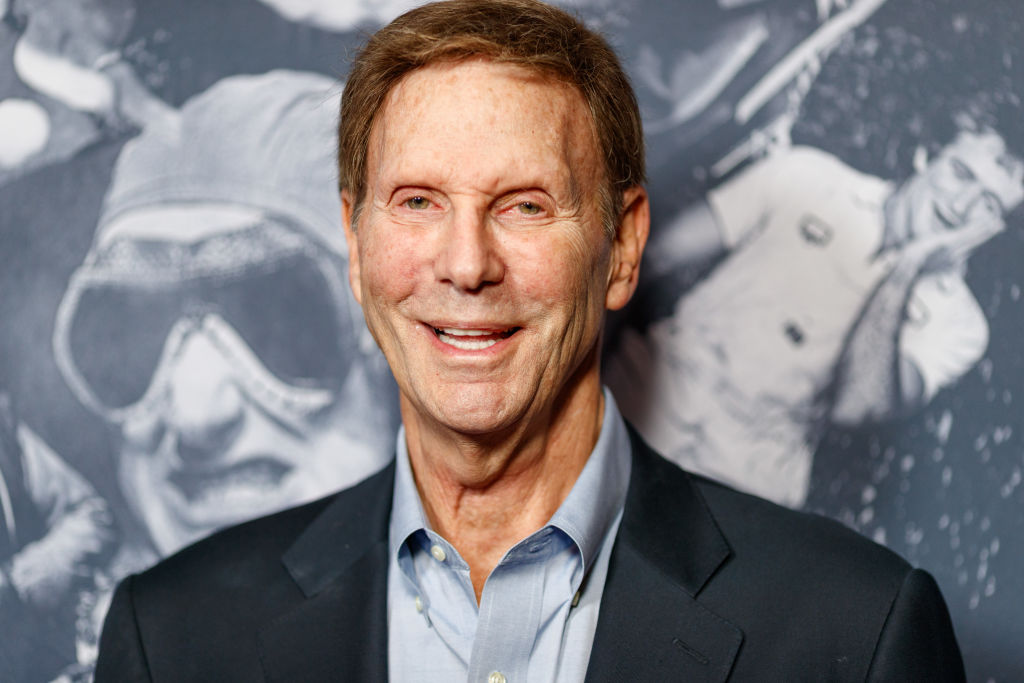 Bob Einstein at a premier