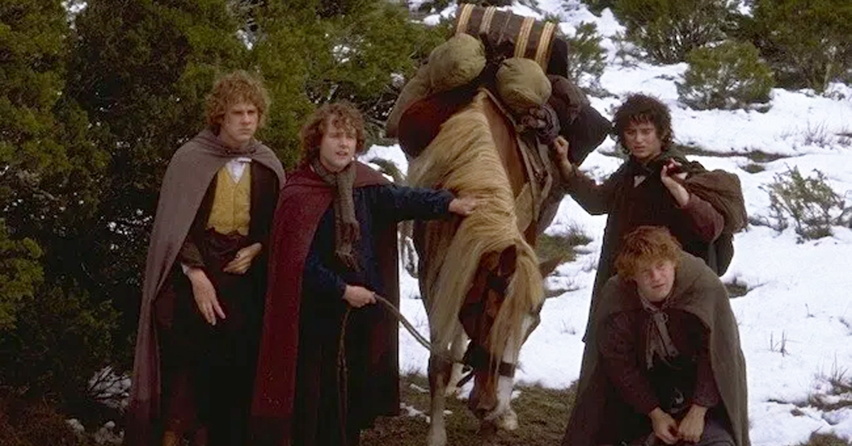 bill the pony and the cast of lord of the rings
