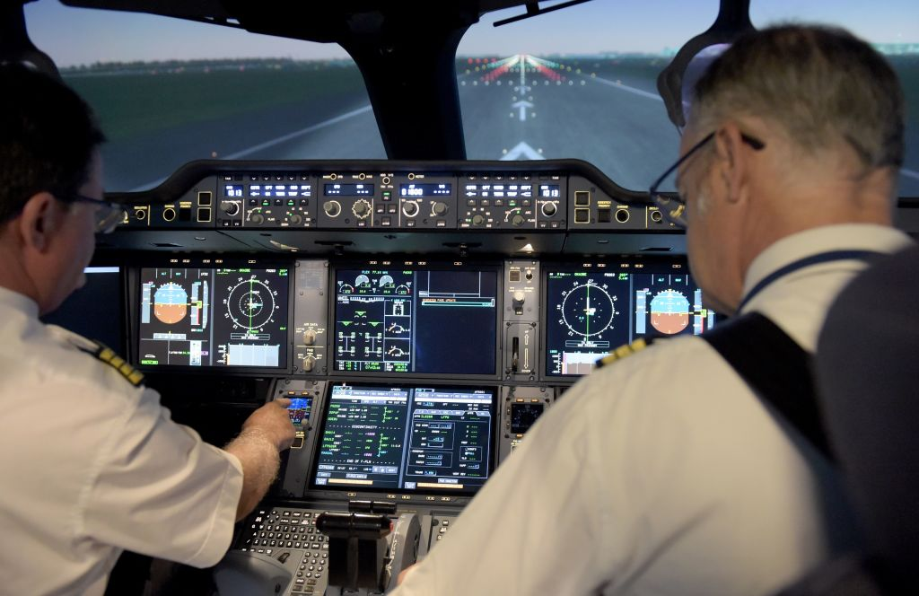 Pilots Prepare For Liftoff