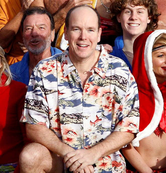 Prince Albert II Of Monaco In Vacation Mode