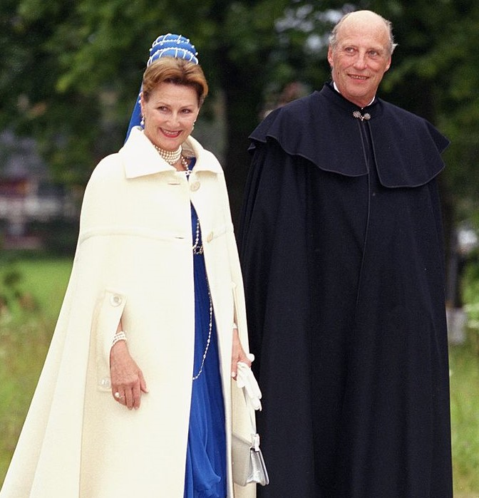 King Harald & Queen Sonja Of Norway