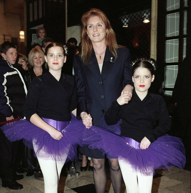 Princess Beatrice And Princess Eugenie As Ballerinas