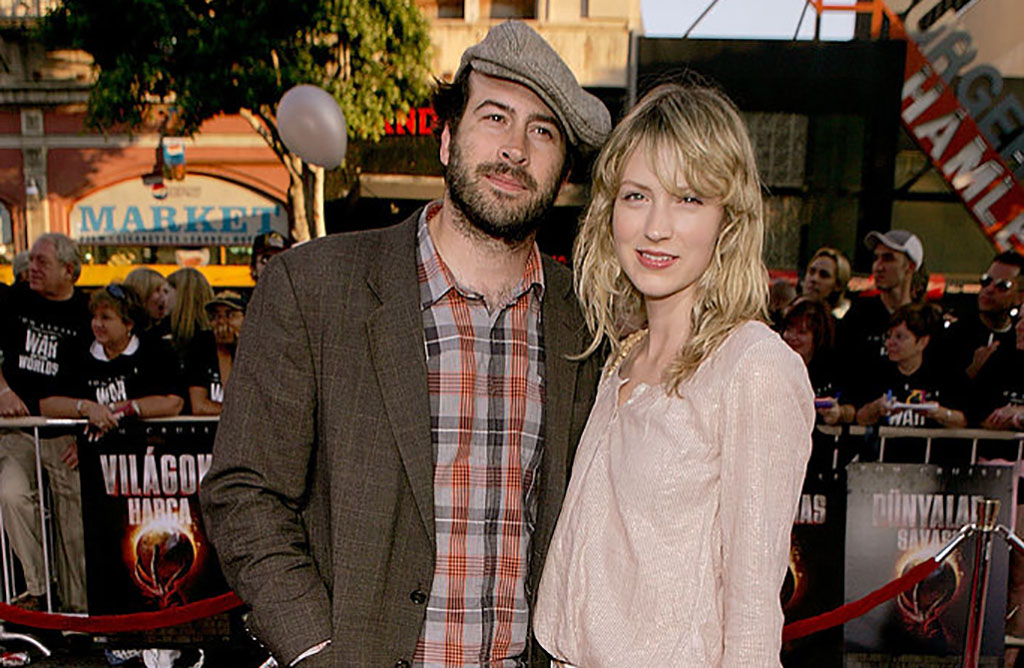 Lee and Riesgraf at screening of War of the Worlds