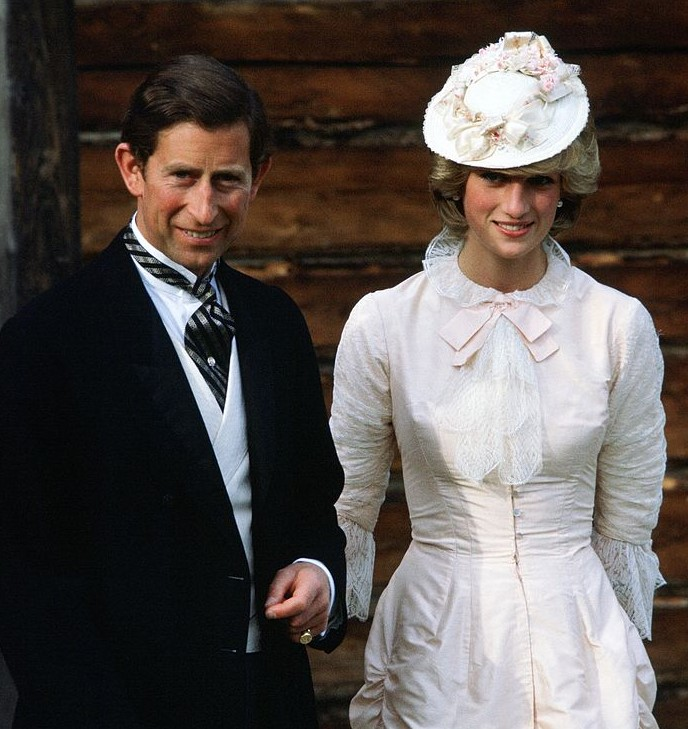 Prince Charles and Princess Diana Go Klondike