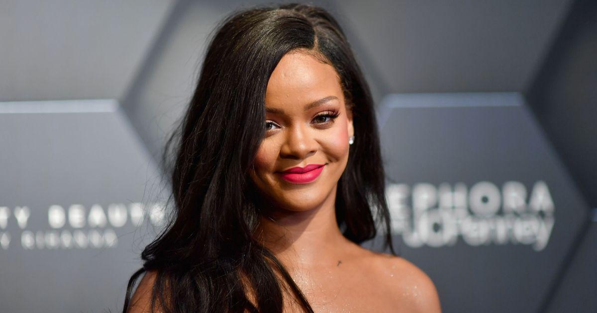 Rihanna attends a Fenty Beauty x Sephora Event
