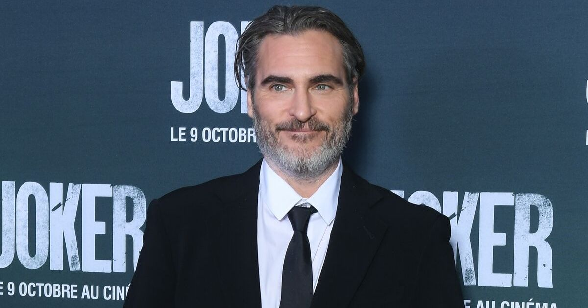 Joaquin Phoenix attends the
