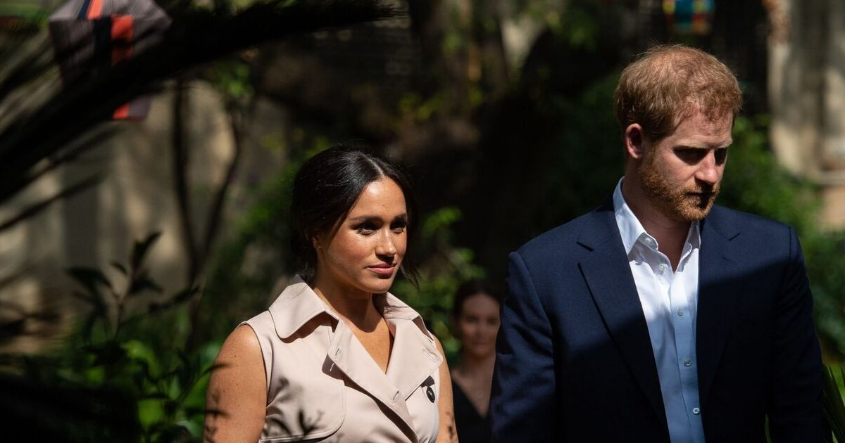 The Duke and Duchess of Sussex attend a creative industries and business reception, at the British High Commissioner's residence, in Johannesburg, South Africa, on day 10 of their tour of Africa