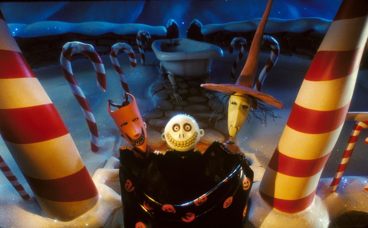The Three Halloweentown Children Trick Or Treating