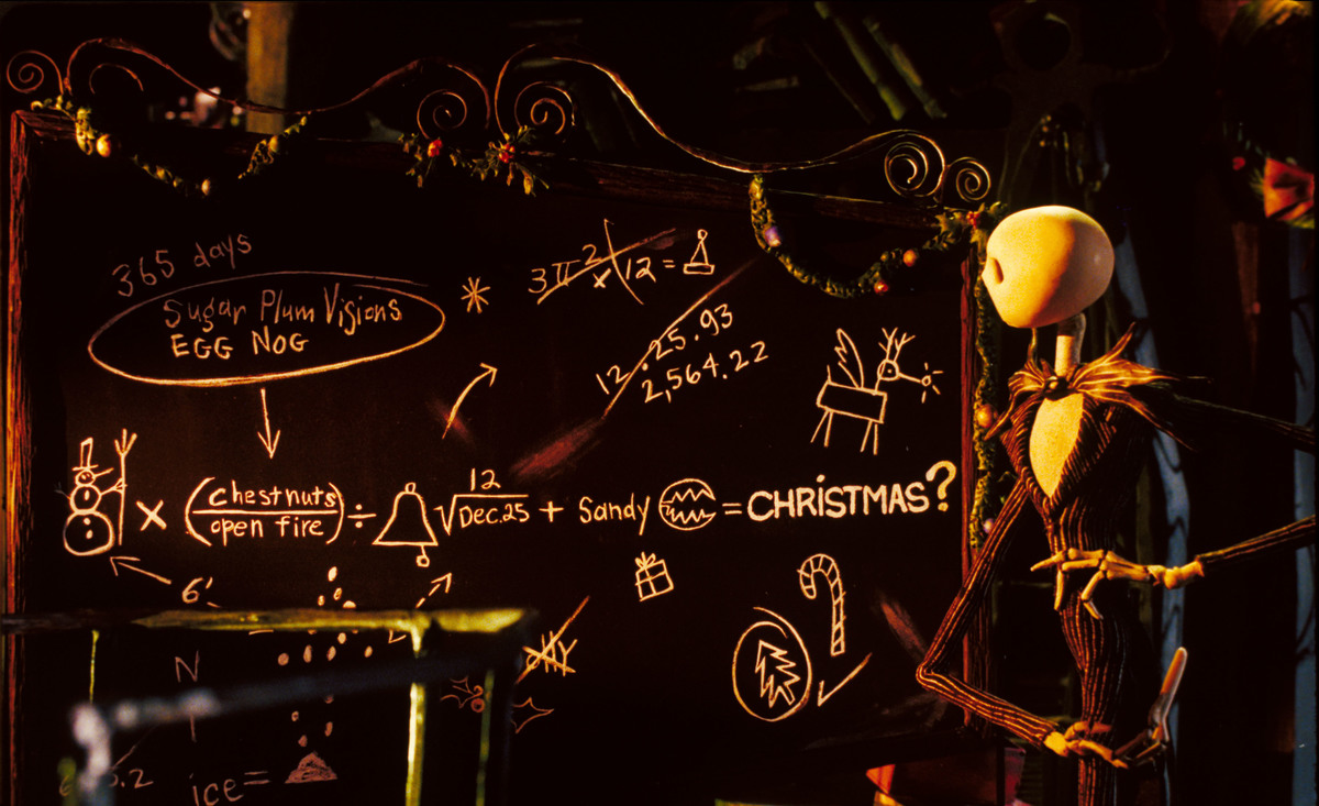 Jack Looks At A Chalkboard Math Equation