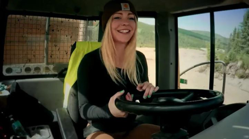 Ashley-Youle-Gold-Rush-Driving-Truck