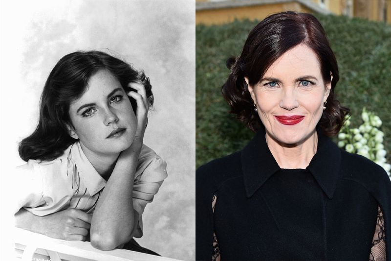 Elizabeth McGovern Made Her Way To Downtown Abbey