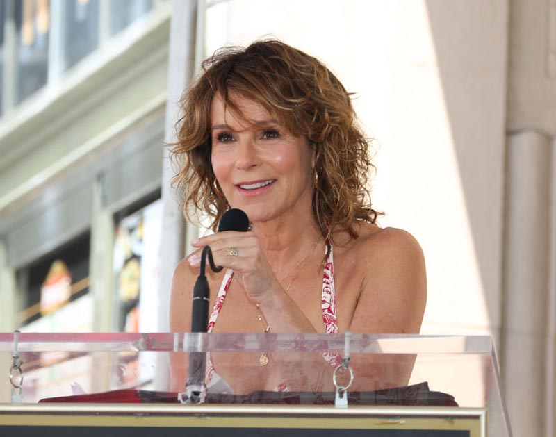 Jennifer Grey looks youthful but different after getting a nose job.