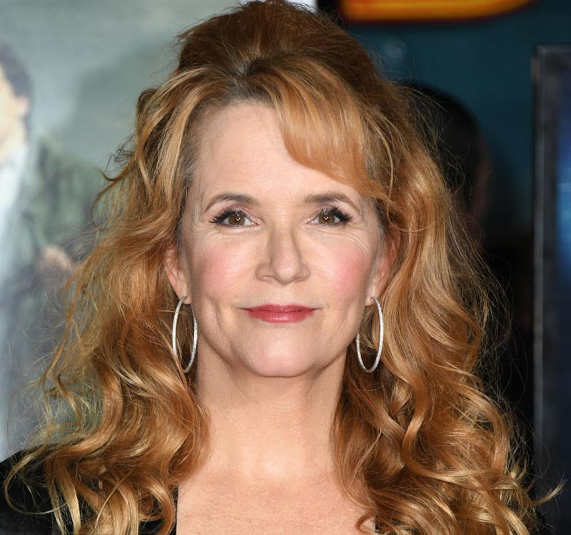 Lea Thompson looks nearly the same as she did in the '80s but for a few wrinkles.