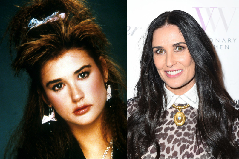 Demi Moore Is A Doll Collector