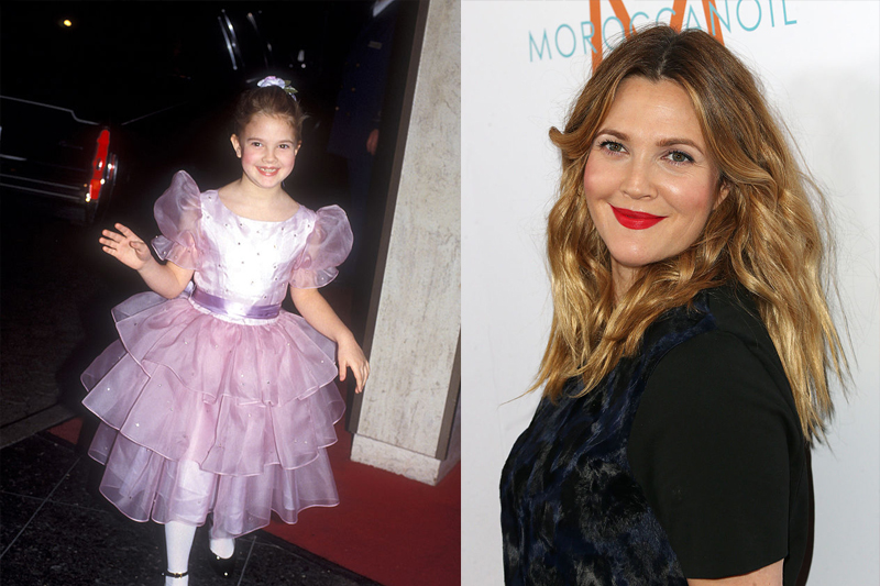 Drew Barrymore Now Has A Cosmetic And Clothing Line