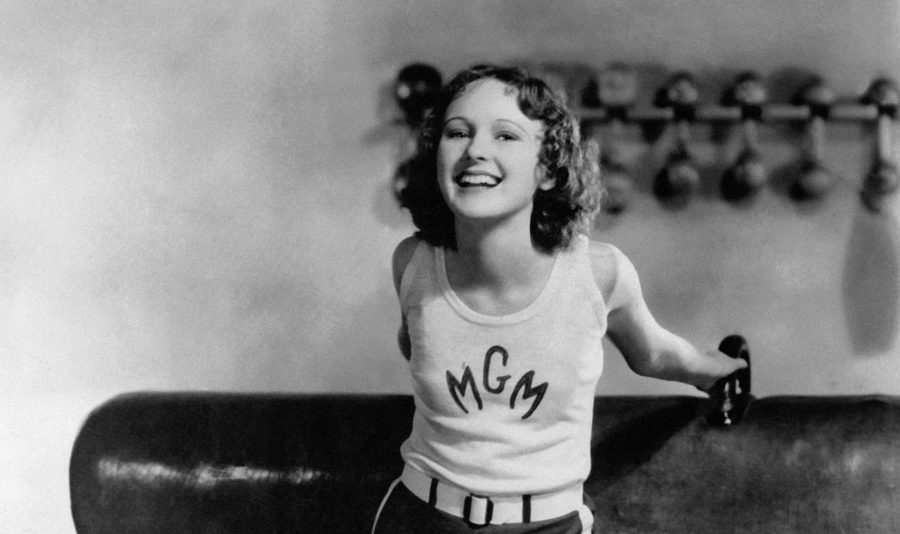 Dorothy Jordan at MGM studios