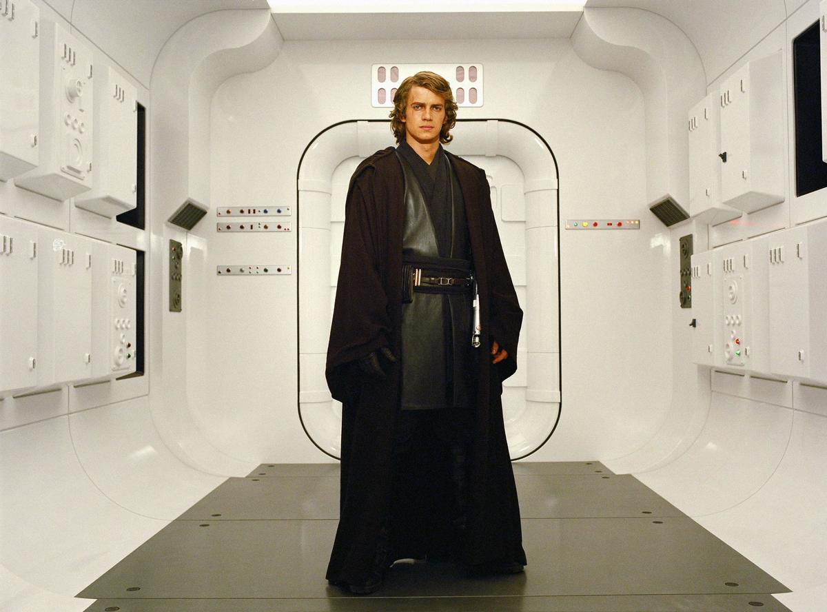 Darth Vadar Rises In Star War: Episode III - Revenge Of The Sith