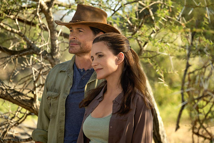Holiday In The Wild Stars Rob Lowe And SATC Alum Kristin Davis