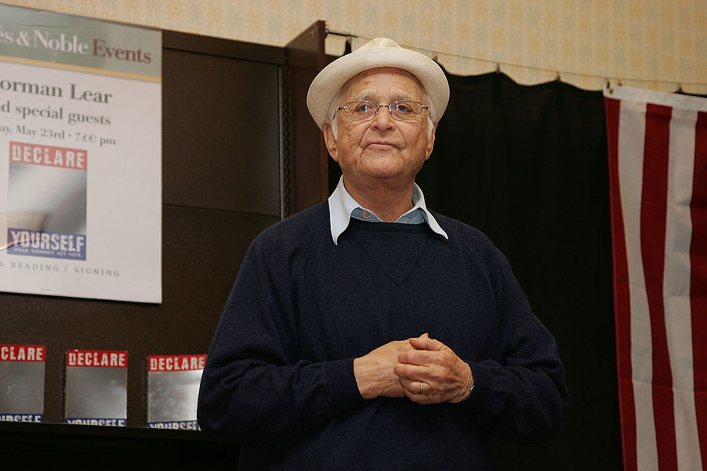 Writer and producer Norman Lear attends the book release and signing of