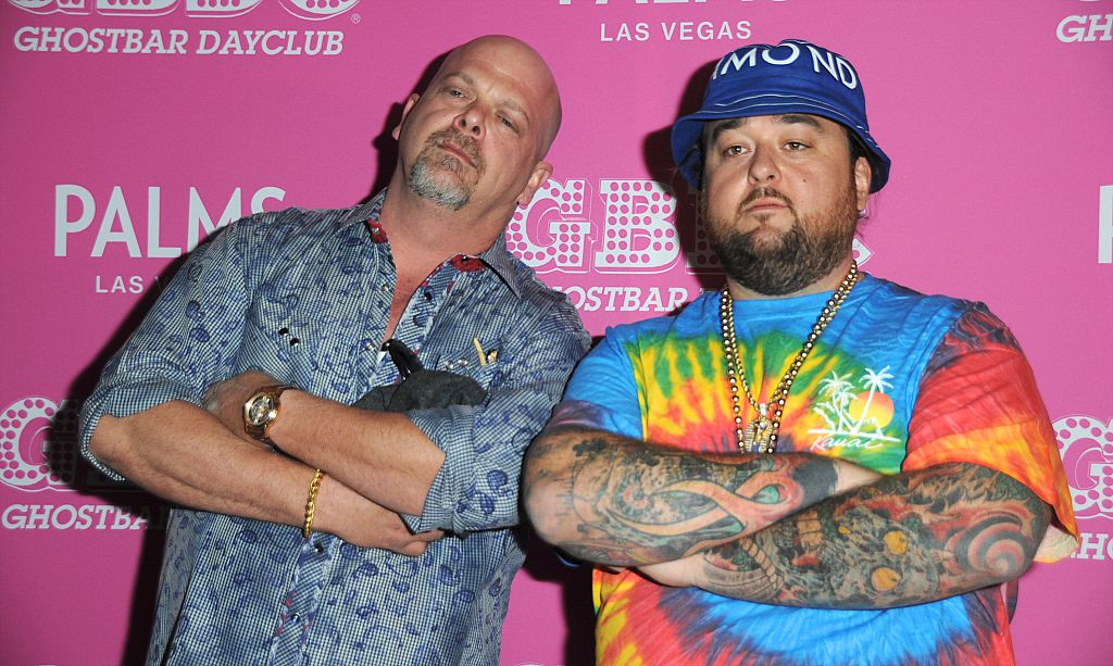 chumlee and rick harrison
