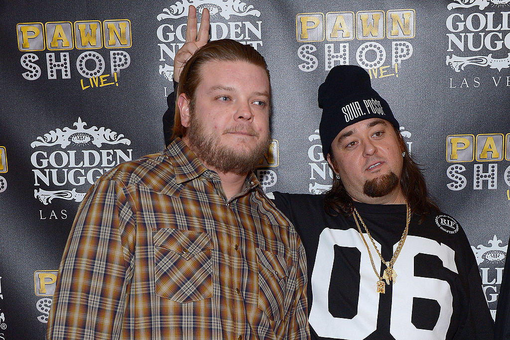 chumlee on the red carpet with co-star