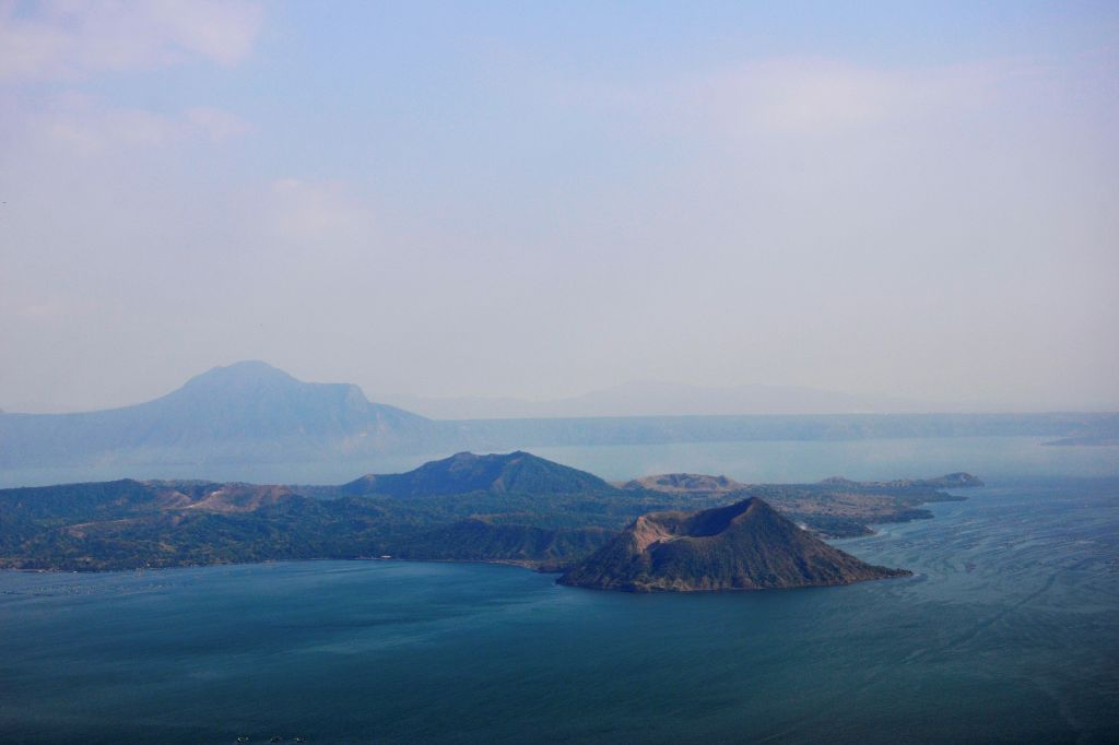 Picture of Taal volcano in the Philippines