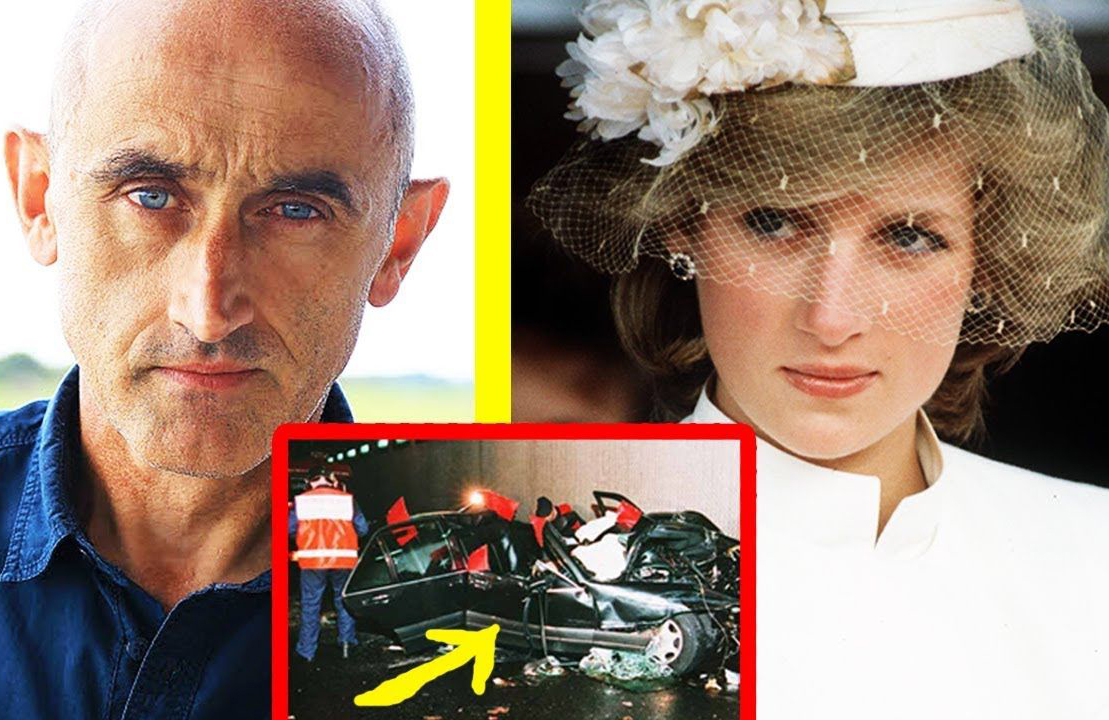 Xavier Gourmelon and Princess Diana are shown together with her crash.
