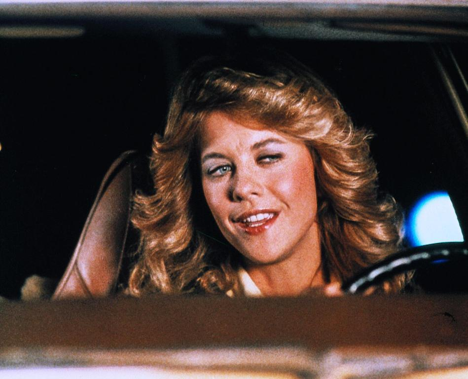 Young Sally talks while driving.