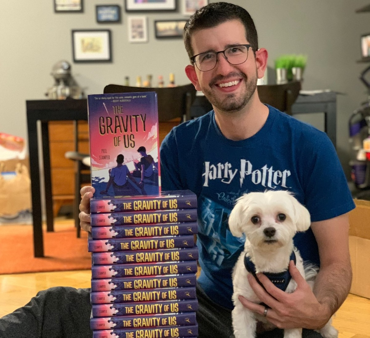 The Gravity Of Us Is The Debut Novel For Author Phil Stamper