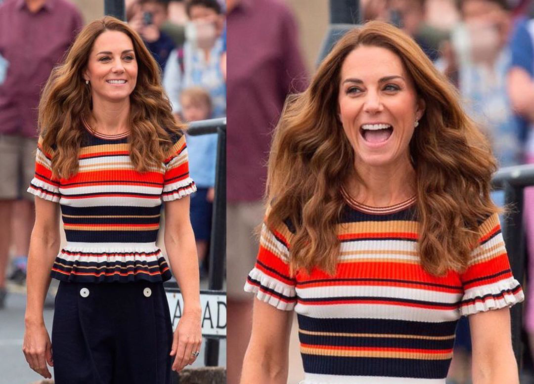 Kate Middleton attends the King's Cup Regatta in 2019.